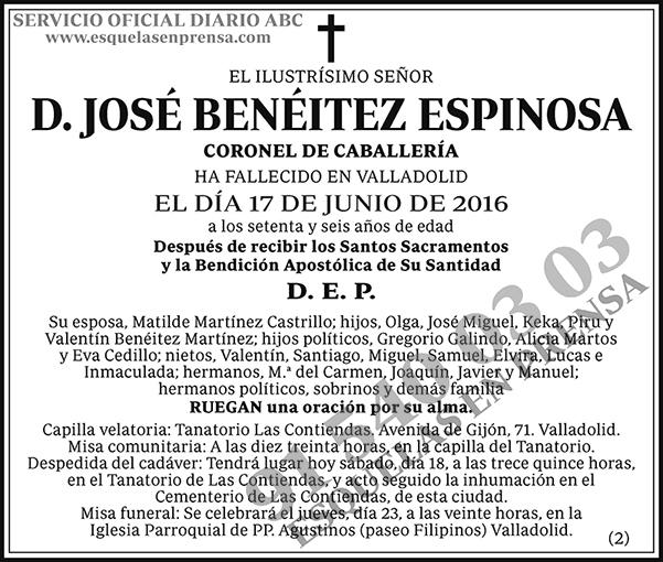 José Benéitez Espinosa